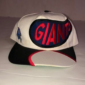 Vintage Rare NFL 90s New York Giants Drip snapback